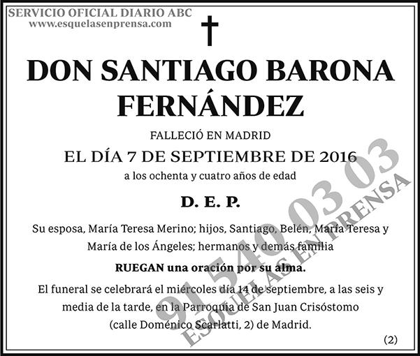 Santiago Barona Fernández